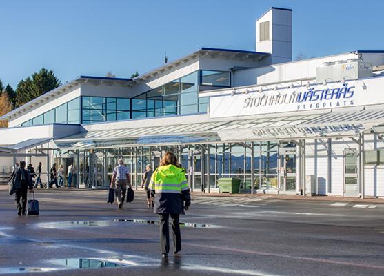 förbjuden datum avsugning nära Västerås